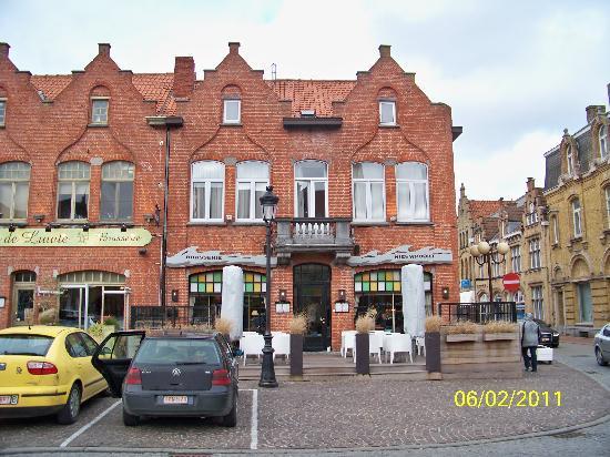 Nieuwpoort, Belgium: La facade