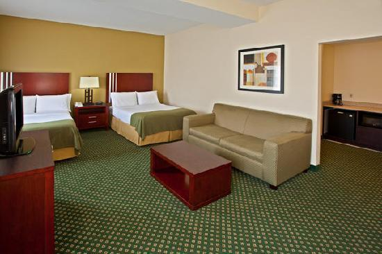 Holiday Inn Express and Suites Indianapolis East: Double Guestroom