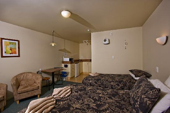 Alpine-Pacific Holiday Park: Studio motel