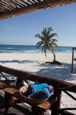 Tulum Hemingway Romantic Cabanas: the beach