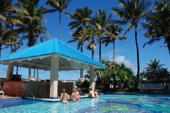 san juan marriott resort & stellaris casino swim up bar