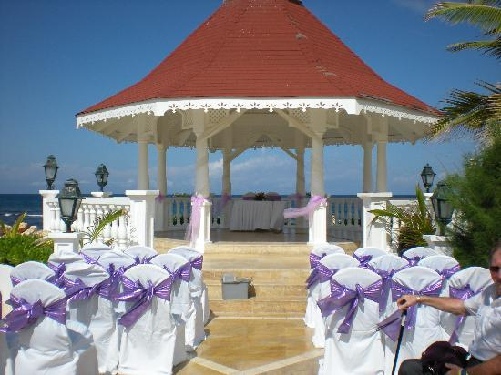 Grand Bahia Principe Jamaica The Wedding Gazebo