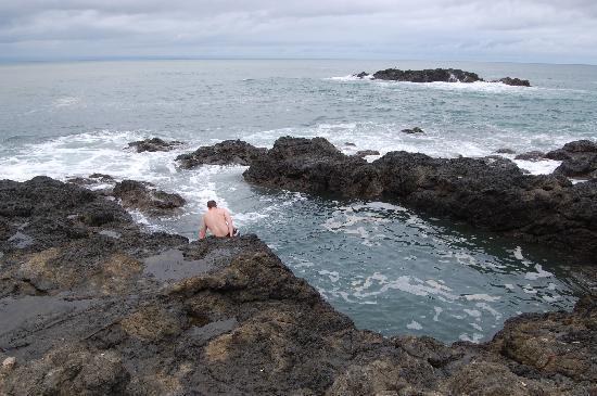 Hotel Amor de Mar: Swimming in the tide pools