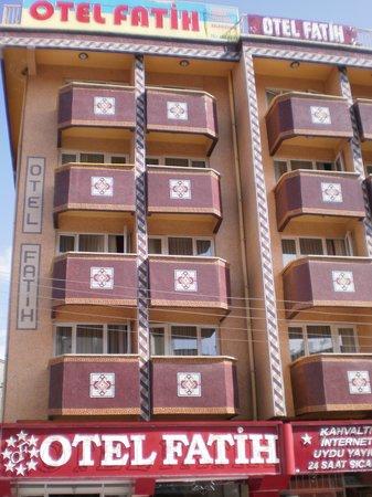 Sivas, Tyrkia: Hotel外観