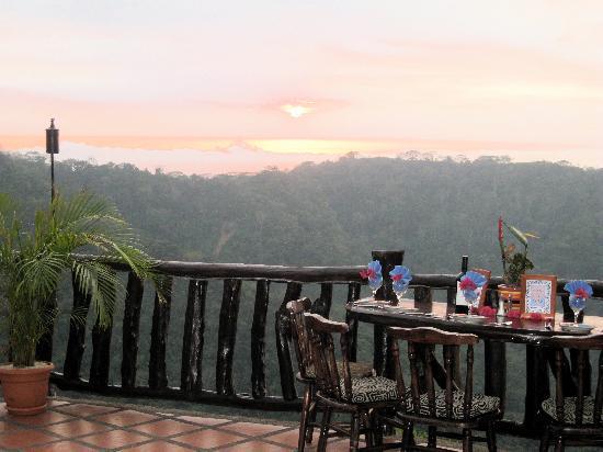 The Sunset Picture Of Adventure Dining Jaco Tripadvisor