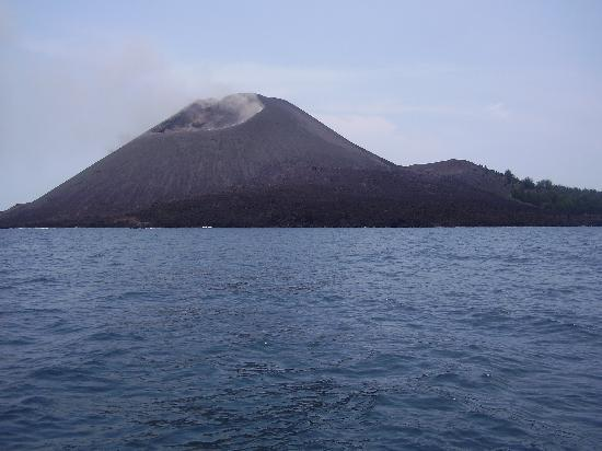 Java, Indonesien: krakatu day light