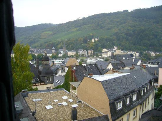 Traben-Trarbach, Germany: view from the hotelroom