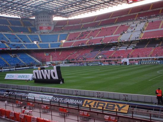 Stadio Giuseppe Meazza (San Siro) : Inside the stadium