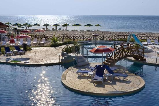 Albena, Bulgaria: Hotel Gergana - the beach