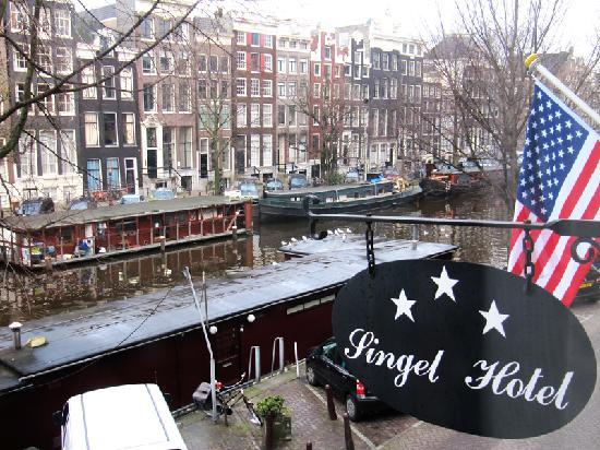Singel Hotel Amsterdam: View from my room