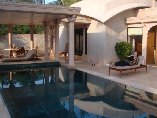 Amanbagh Resort: unsere private Villa