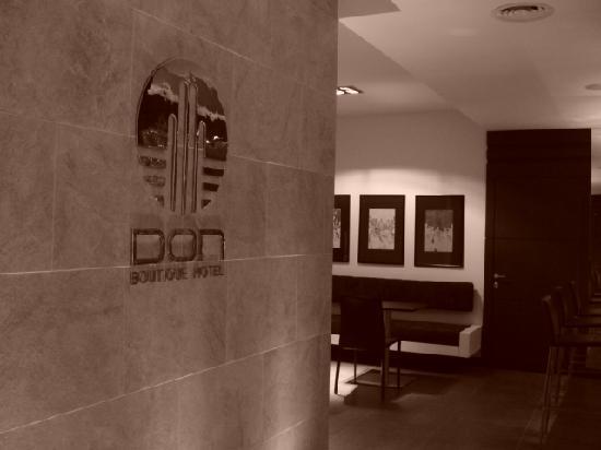 Don Boutique Hotel: Lobby, aqui se encuentran los chicos del hotel que te dan un servicio super amable