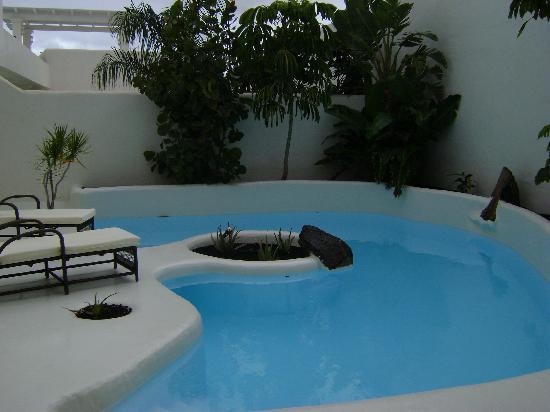 Bahiazul Villas & Club: Foto de la piscina, fue el día que llegamos