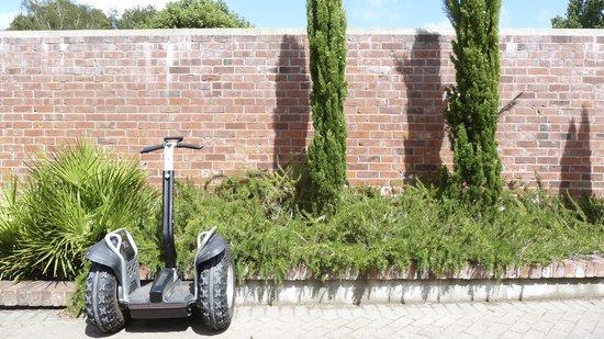 Urban Wheels: Segway resting