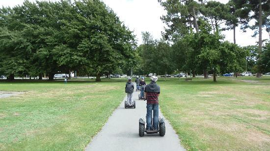 Urban Wheels: Segway tour group