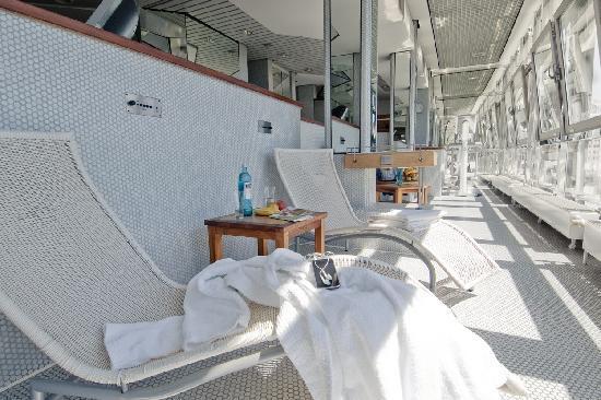 Best Western Plus Hotel St. Raphael : Saunabereich