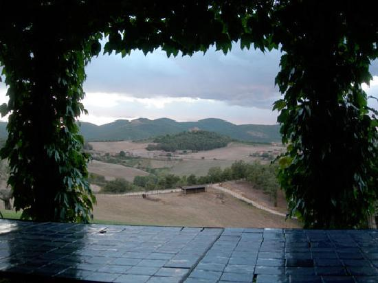 Villa Pianesante : THE VIEW FROM HE FRONT
