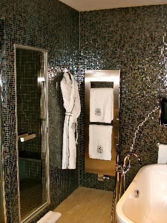 Sofitel Legend The Grand Amsterdam : Steam Shower entrance - Imperial Suite