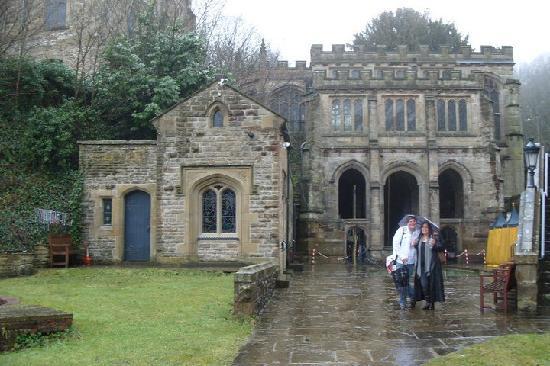 St Winifred's Well / Holywell / Flintshire / Feb 2011