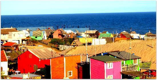 Punta del Diablo, Uruguay: Casas de colores