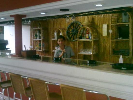 Hotel La Perla: güzel bir bar