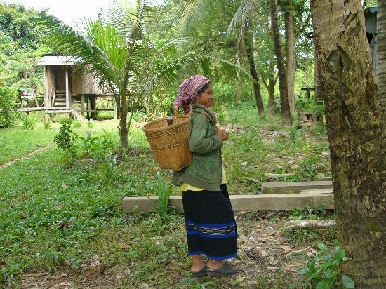 Ratanakiri Province, Cambodia: Pnoung Lady