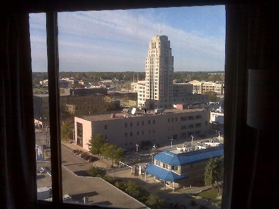 McCamly Plaza Hotel: Looking North from the 15th floor
