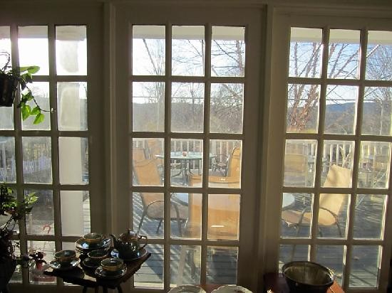 Thornewood Inn : view from the dining room
