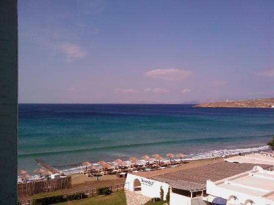 Tinos Beach Hotel: balcony view 1