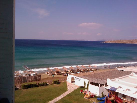 Tinos Beach Hotel: balcony view 2