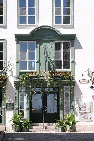 Hotel Le Priori: Entree Principale - Main Entrance