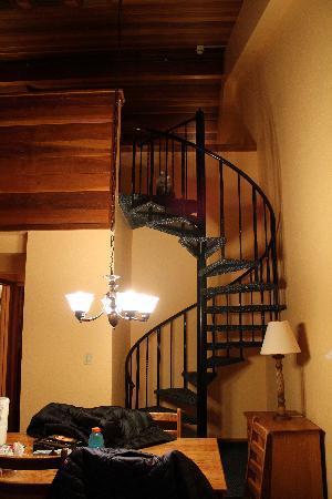 VRI Streamside at Vail - Cedar: Steps up to the loft