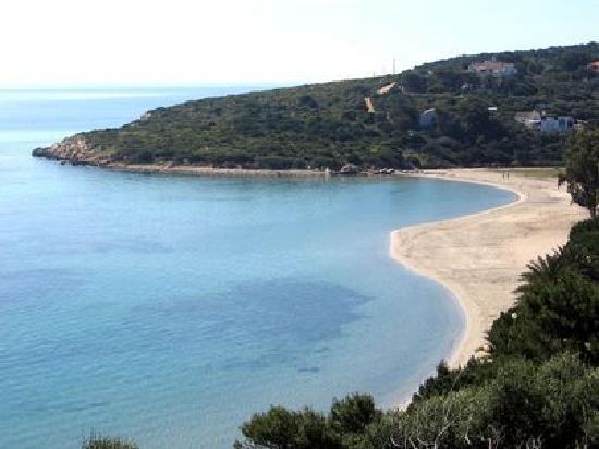 La Rosa dei Venti Resort B&B: spiaggia sant'antioco