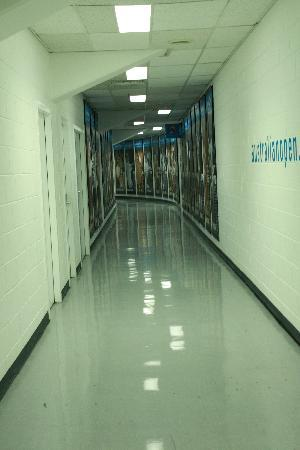 Melbourne & Olympic Parks: hallways