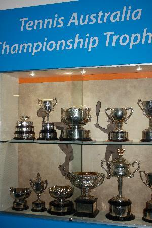 Melbourne & Olympic Parks: trophies