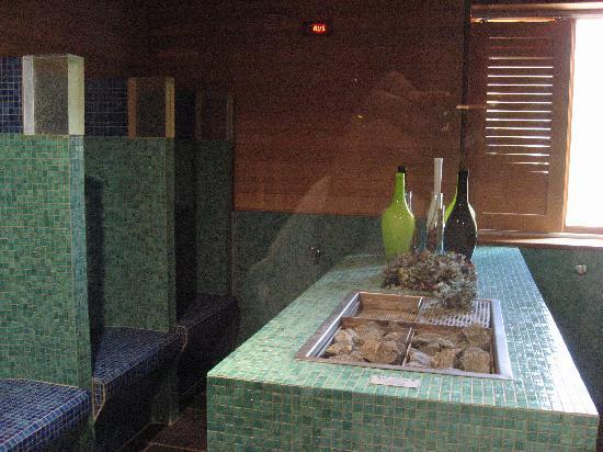 Lenkerhof gourmet spa resort: herbal sauna
