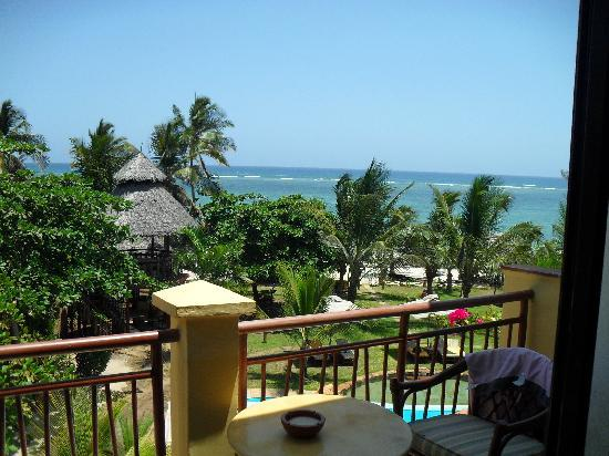 AfroChic Diani: View from our room