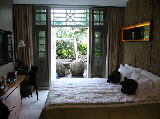 Hotel Fort Canning: garden deluxe