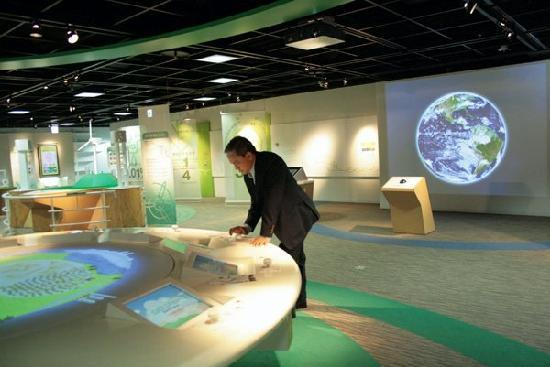 Mitsubishi Minatomirai Industrial Museum: The museum's wing dedicated to environmentalism.