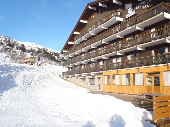 Chalet Hotel Tarentaise: right on the piste