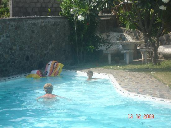 The pool at Villa Arjuna