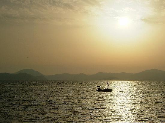 Ozturk Hotel Hisaronu: Sunset at Fethiye