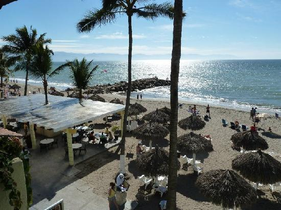 Crown Paradise Club Puerto Vallarta: View from our room.