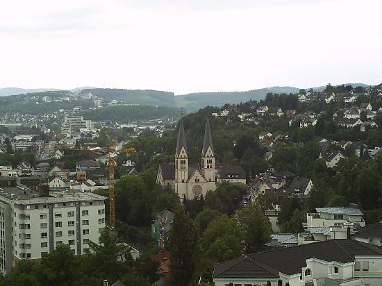 Siegen, Germania: Blick vom Oberen Schloss