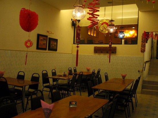 Karaikudi Restaurant: The interior - basic but friendly