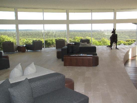 Southern Ocean Lodge: Lounge area