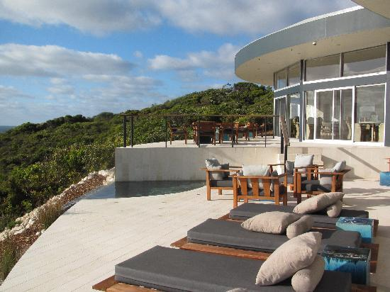 Southern Ocean Lodge: Plung pool