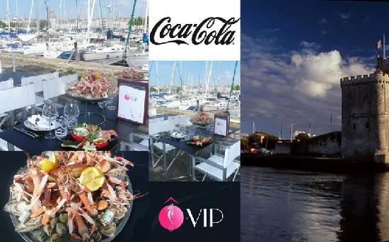 O VIP Restaurant: Fruit de mer a déguster  sur La terrasse