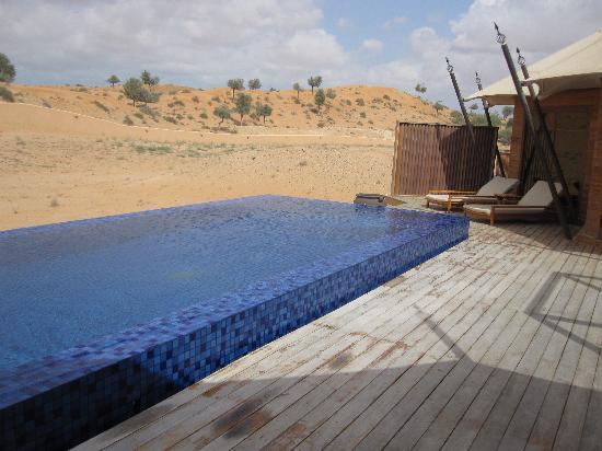 Banyan Tree Al Wadi: Infinity pool