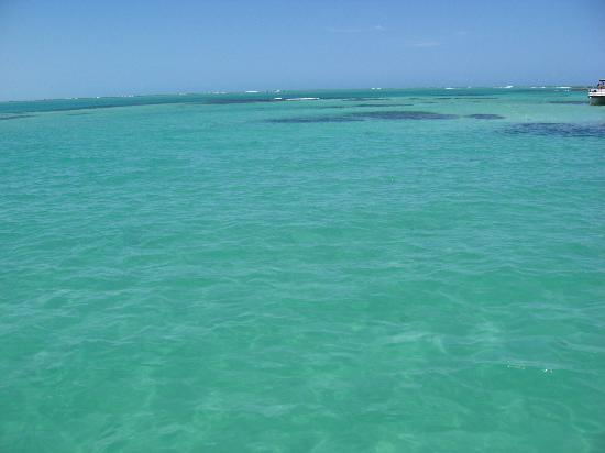 Maragogi, AL: Auf dem Meer